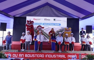 Construction on Boustead Industrial Park phase 2A in Dong Nai begins