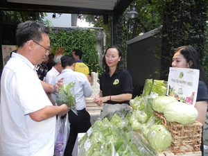 """""""Organic Town – GIS Market"""" opens in HCM City"""