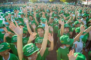 Nestlé MILO holds first WalkingDay in Can Tho