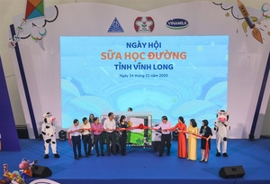 School Milk Programme improves stature and fitness of local children in Vinh Long