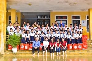 VUS donates equipment, milk to schools in flooded central region