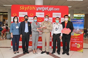 Thai Vietjet launches new route, giving away promotional tickets