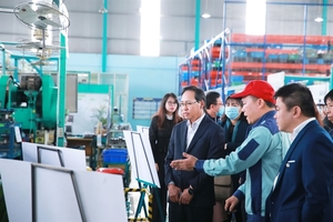 Samsung Viet Nam continues its support to local suppliers