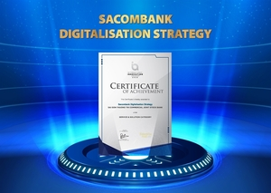 Sacombank wins International Innovation Award for digitisation