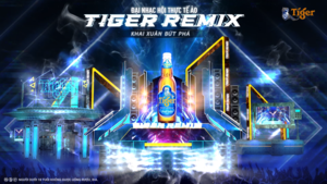 Tiger Remix to bring virtual music experience to Vietnamese fans