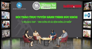 eWellness Tour sharesknowledge about nutrition