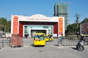 Mong Cai border gate ready to resume customs clearance