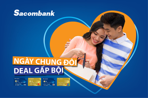 Sacombank offers Valentines Day promotions on cards