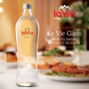 La Vie launches natural mineral water in glass bottles