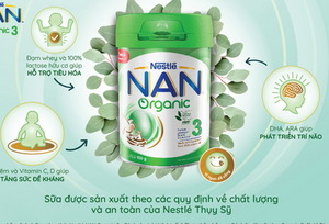 Nestlé launches two organic nutritional products for children