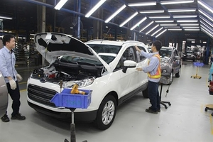 Ford Viet Nam suspends production in Hai Duong