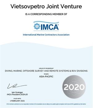 Vietsovpetro joins International Maritime Contractors Association