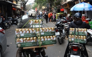 Virus and strict laws hurt beer sales