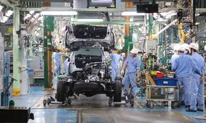 Toyota Motor Vietnam suspends vehicle production