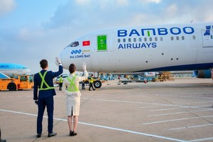 Bamboo Airways operates repatriation flight for EU citizens