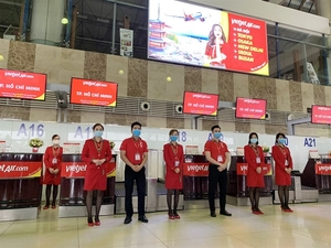 Vietjet ensures operation on several domestic routes