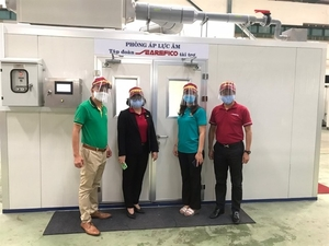 Searefico donates negative pressure room to HCM City Department of Health