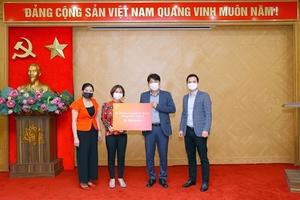 SK Vietnam donatesSARS-COV-2 test kits to Ha Noi