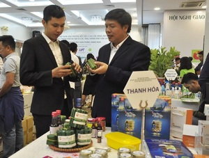 Ha Noi will support connection in trading goods with localities