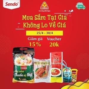 Vissan begins to sell online at Sendo