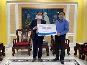 Shinhan Finance donates $51,207 to Viet Nam COVID-19 fight