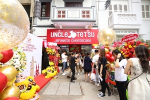 Famous Japanese cheesecake brand comes to Viet Nam