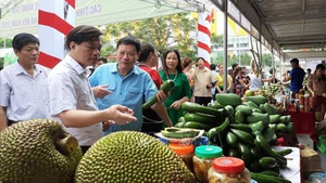 Agricultural products on display in Ha Noi this week