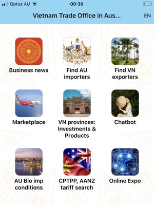 App supporting businesses between Viet Nam and Australia launched