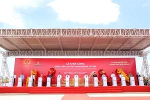VinWonders Vu Yen construction startsin Hai Phong