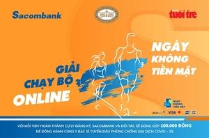Sacombank organises virtual run to mark Cashless Day