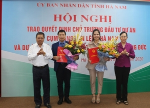 Two projects worth $215 million granted in Ha Nam