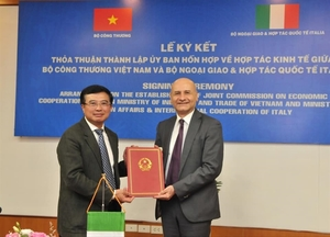 New Joint Commission on Viet Nam-Italy Economic Co-operation formed