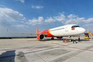 Vietjet's 10 Airbus aircraft operating lease in 2019 honoured