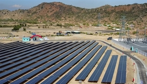 $32.5million solar power farm opens in Ninh Thuan