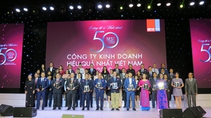 PNJ ranked among Viet Nam's 50 best-performing companies