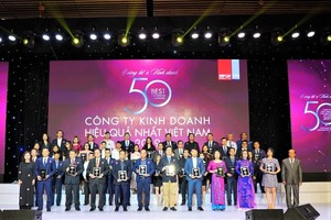 Novaland wins best performing companies award for 4th year