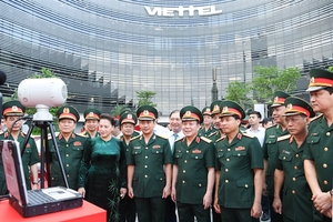 Viettel urged to maintain its lead in country's telecom market