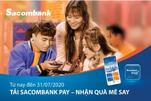 Many incentives on offer for downloading, transacting on Sacombank Pay app