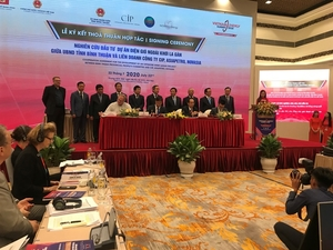 MoU signed to develop a 3.5GW offshore wind project
