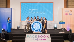 "Facebook launches ""We Think Digital"" programme for Vietnamese young generation"