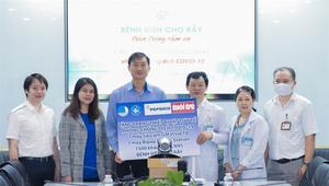 PepsiCo Vietnam aids local hospitals in COVID-19 fight