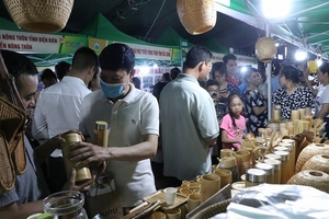 550 OCOP products introduced in capital city
