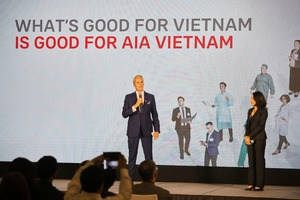 AIA Vietnam sees shift in role from mere payer to partner in customers' well-being