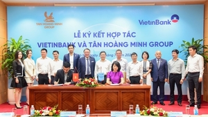 VietinBank and Tan Hoang Minh sign co-operation agreement