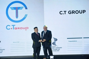 C.T. Group honoured as one of best companies to work for in Asia
