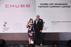Chubb Life Vietnam named among best companies to work for in Asia
