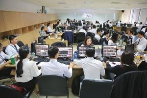 Securities, consumer staples boost local market