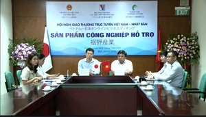 First Viet Nam-Japan teleconference on support industries opens