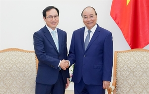 Samsung Vietnam to receive further support, PM said