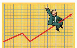 Shares extend gains on pillar stocks